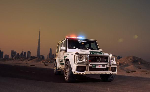 بالصور: مرسيدس-بنز B63-S تنطلق من معرض دبي للسيارات لتكون احدث إضافة لأسطول السيارات الخارقة لشرطتها