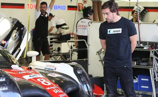 فيرناندو ألونسو يشارك في بطولة العالم لسباقات التحمل 2018