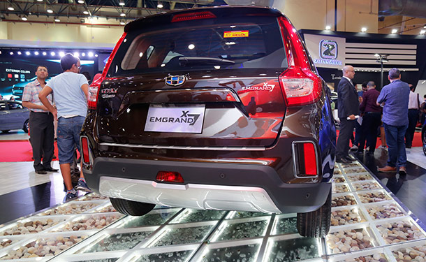 أوتوماك فورميلا 2017: جيلي إمجراند تطرح سيارة جديدة في السوق المصري