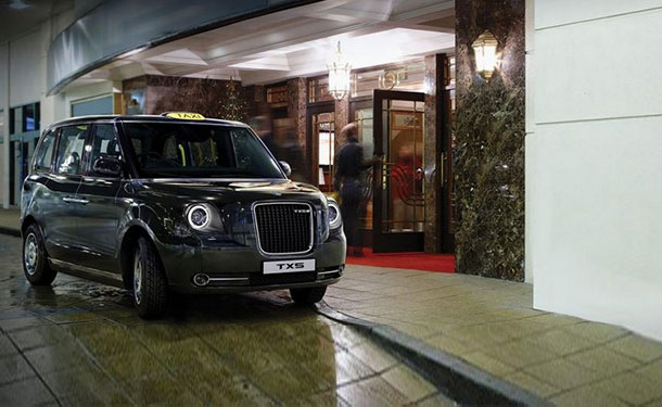 جيلي الصينية تكشف عن TX5 تاكسي لندن الجديد