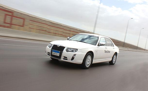 إختبار قيادة: MG 750 في مصر