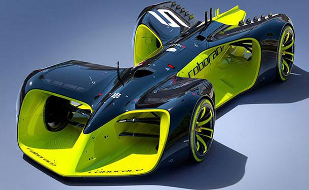 شاهد: أول نموذج لسيارة سباق ذاتية القيادة ببطولة Roborace